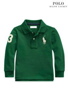 Polo Ralph Lauren Green Big Logo Poloshirt