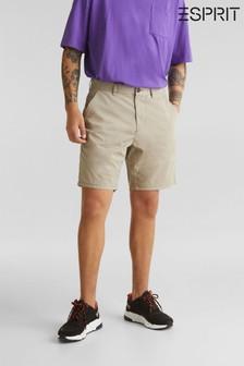 Esprit Chino-Shorts, Creme