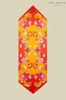 צעיף עניבה ארוך בהדפס ריבס דגםKatlyn שלTed Baker