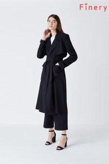 מעיל טרנץ' של Finery דגם Cassidy בנייבי