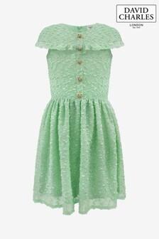 David Charles藍綠色Special洋裝