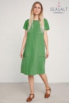 Seasalt Green Levelling Dress