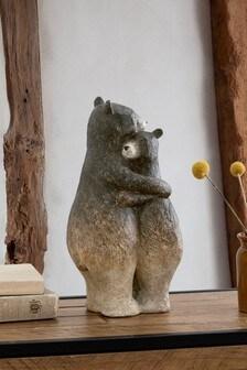 Brown Bonnie And Bernard Bear Ornament