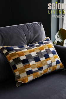 Scion Kochi Cut Velvet Cushion