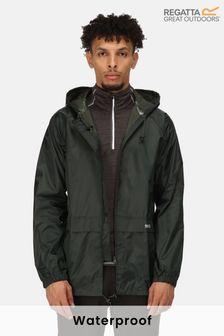 Зеленая непромокаемая куртка RegattaStormbreak