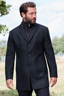 Epsom Mantel mit Reißverschluss