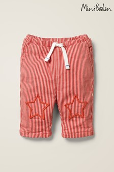 Boden Red Patch Knees Trousers