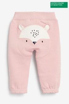 Спортивные брюки с аппликацией персонажа Benetton