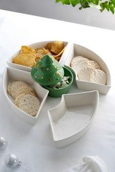 Чаша для чипсов и соуса (новинка)