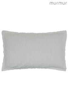 Murmur Nara Jacquard Circles Textured Cotton Pillowcase