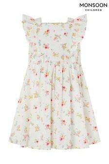 Monsoon S.E.W. Kaia Kleid für Babys, Elfenbein