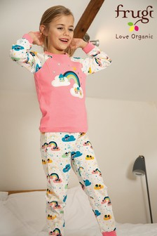 Frugi Pink GOTS Organic Pyjamas