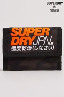 Portefeuille Superdry T imprimé camouflage avec porte-clé anneau