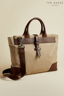 Ted Baker Litle Recycled Canvas Document Bag