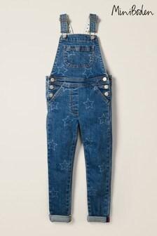 אוברול ג'ינס ארוך של Boden בגזרת סקיני לילדות