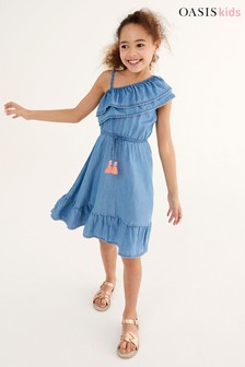 Oasis TENCEL® Asymmetric Dress