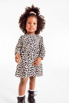 Платье с принтом и объемными рукавами (3 мес.-7 лет)