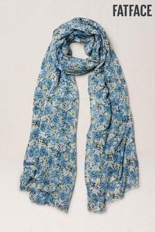 FatFace Schal mit Streublümchen, blau
