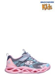 Skechers® Grey Twisty Brights Trainers