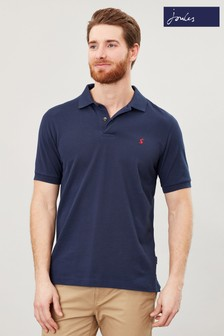 Joules Blue Woody Classic Poloshirt