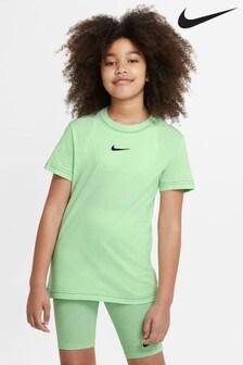Nike Green Essential Boyfriend Fit T-Shirt