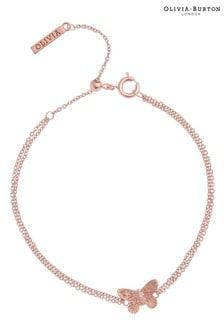 Olivia Burton 3D Butterfly Chain Bracelet