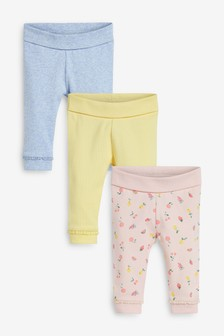 Set van 3 leggings met fruitprint  (0 mnd-3 jr)