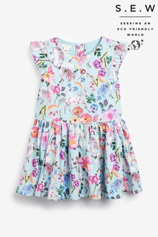 Monsoon Blue S.E.W Armelle Unicorn Dress
