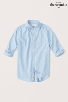 Abercrombie & Fitch Hemd, blau