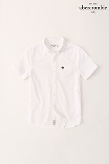 Abercrombie & Fitch - Wit overhemd