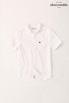 Белая рубашка Abercrombie & Fitch