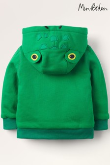 Boden Green Shaggy-Lined Hoody
