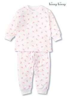 Kissy Kissy Pyjama mit Ballerina-Design, Pink