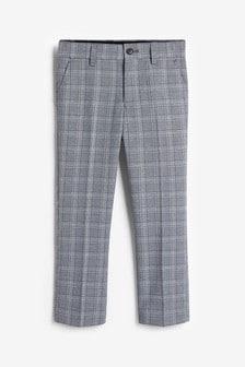Pantalon habillé à carreaux (3-16 ans)