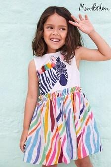 Vestido con aplicaciones de safari multicolor de Boden