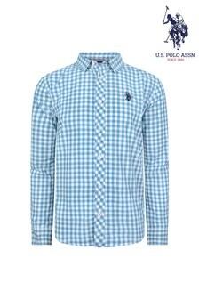 U.S. Polo Assn. Gingham Check Long Sleeve Shirt