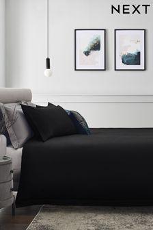 Collection Luxe Bettgarnitur mit Kissen- und Bettbezug aus Baumwollsatin, Fadendichte 300