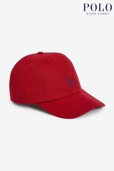 Ralph Lauren Red Logo Cap