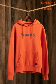 Superdry Classic Logo Canvas Hoody