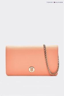 Tommy Hilfiger Pink Honey Mini Crossover Bag
