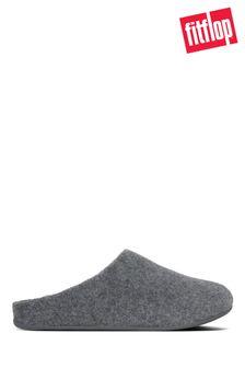 FitFlop™ Grey Shove Felt Slippers