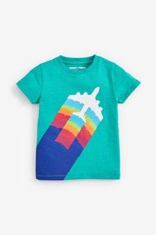 Short Sleeve Aeroplane T-Shirt (3mths-7yrs)