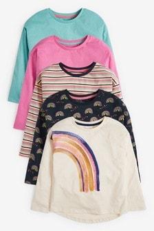 Набор из 5 футболок (3-16 лет)