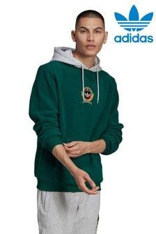 adidas Originals Green Collegiate Crest Pullover Hoody