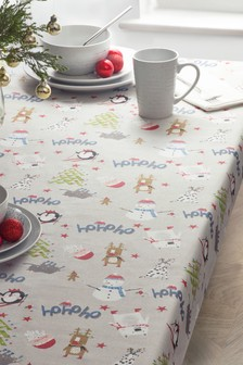 Festive Wipe Clean Tablecloth