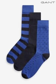 GANT混合短襪3雙裝