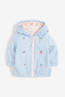 Stripe Fruit Embroidery Jacket (0mths-2yrs)