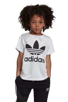 Tričko s trojlístkom adidas Originals Little Kids