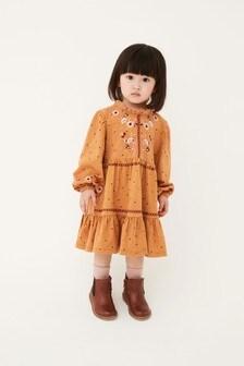 فستان مطرز (3 شهور -7 سنوات)