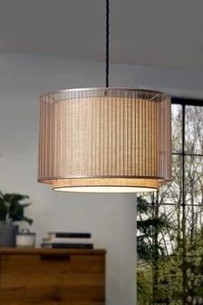 Brass Jada Easy Fit Lamp Shade